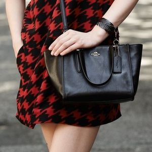Coach CROSBY carryall in Black leather